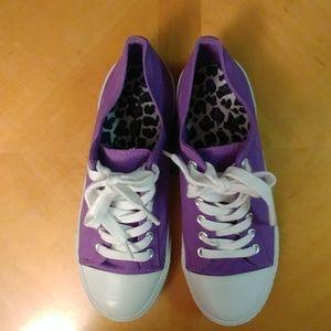 Ladies Purple airwalks